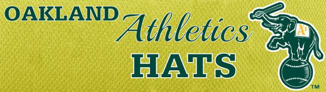 Our selection of Oakland Athletics Snapback hats, fitted hats, and flexfits