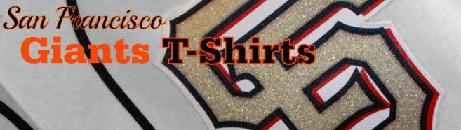 Selection of SF Giants shirts for sale