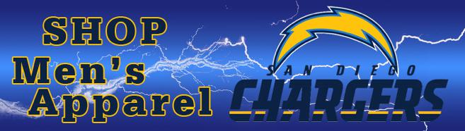 We have an amazing slection of Men's Chargers T-Shirts, jerseys & more
