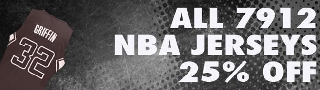 Grab a huge savings on all 7912 NBA basketball jerseys