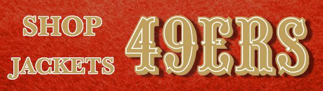 Sho for All San Francisco 49ers jackets, windbreakers & track jackets