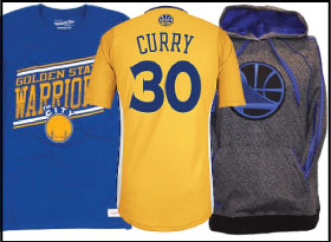 Golden State Warriors Gear